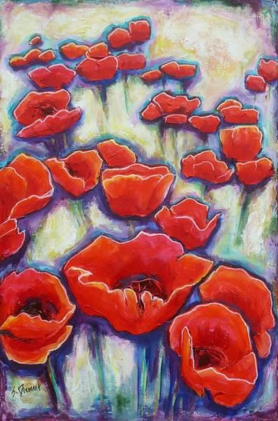 Wall Art - Painting - Poppylar Subject Matter by Sheila Diemert