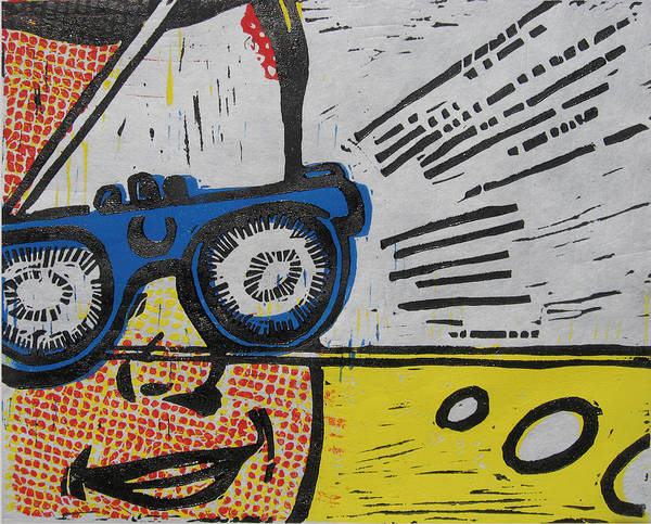 Wales Mixed Media - Poptastic Visions by Andrew Wales