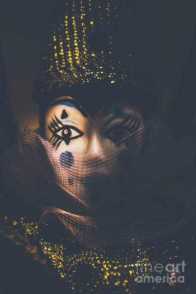 Carnival Photograph - Porcelain Doll. Performing Arts Event by Jorgo Photography - Wall Art Gallery