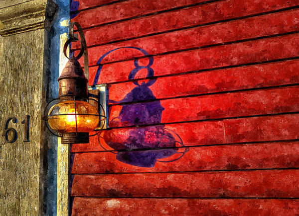Painting - Porch Light by Rick Mosher