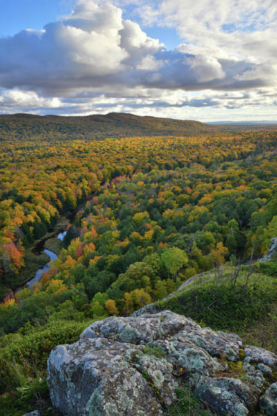 Photograph - Porcupine Mountains by Ray Mathis