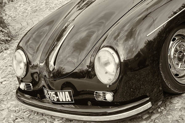 Gs Photograph - Porsche 356 Lines In Sepia by Georgia Fowler