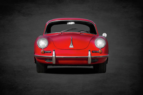 Transport Photograph - Porsche 356 by Mark Rogan