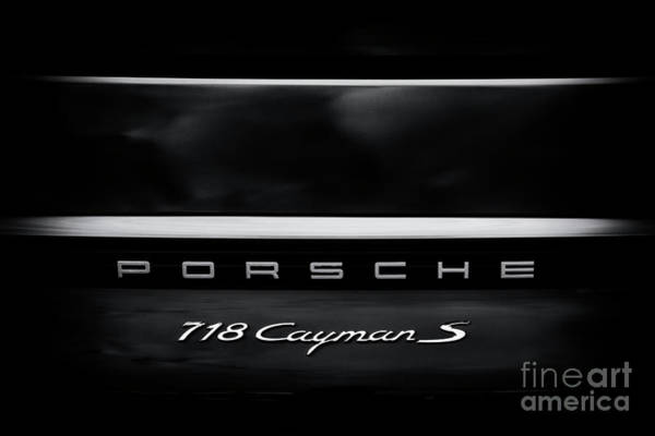 Photograph - Porsche 718 Cayman S by Tim Gainey