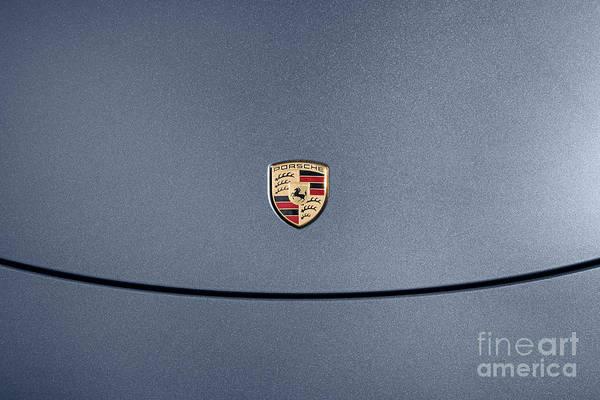 Sportscar Photograph - Porsche 911 Bonnet by Richard Thomas
