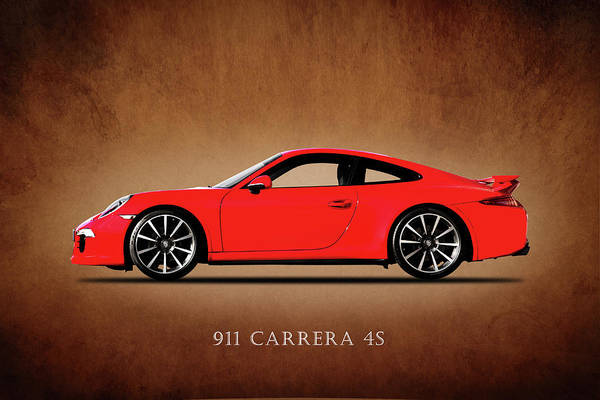 Super Cars Photograph - Porsche 911 Carrera 4s by Mark Rogan
