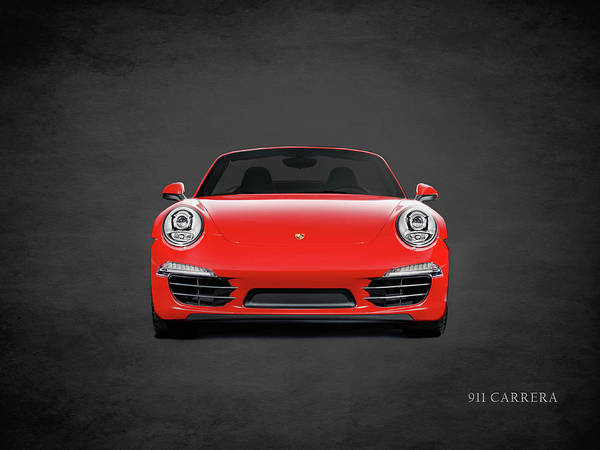 Super Cars Photograph - Porsche 911 Carrera by Mark Rogan