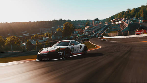 Porsche 911 Rsr, Spa-francorchamps - 33 Art Print
