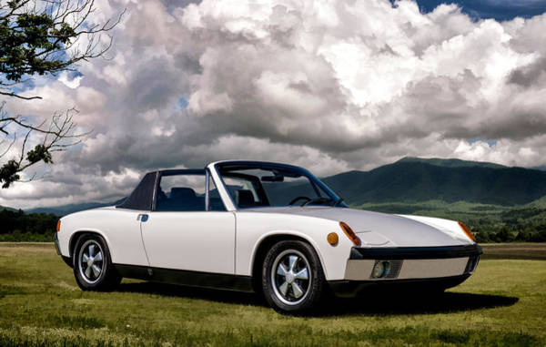 Wall Art - Digital Art - Porsche 914 by Douglas Pittman
