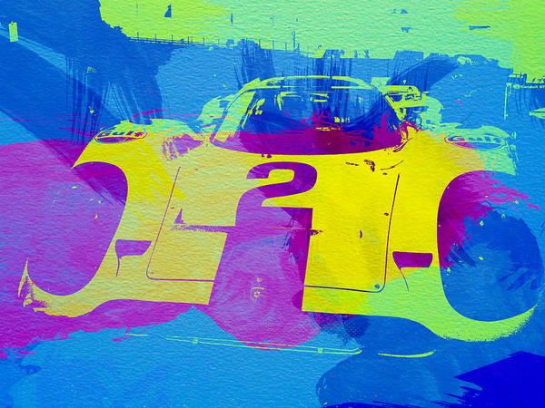 Porsche Painting - Porsche 917 Front End by Naxart Studio