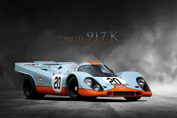 Wall Art - Digital Art - Porsche 917 K by Peter Chilelli