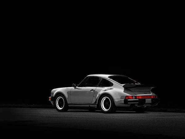 Super Photograph - Porsche 930 Turbo 78 by Mark Rogan