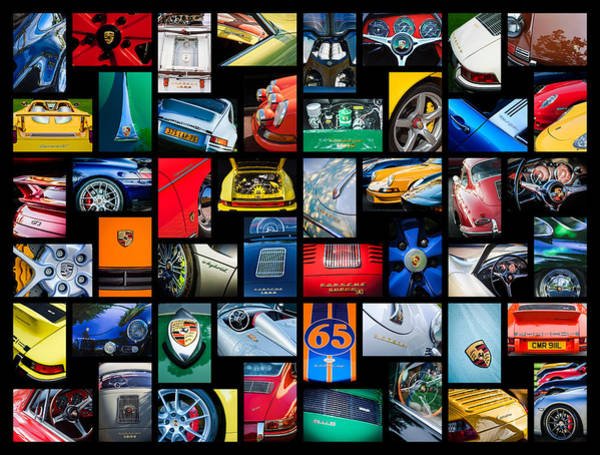 Photograph - Porsche Art -15 by Jill Reger