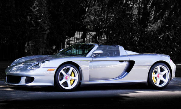 Photograph - Porsche Carrera Gt by Gene Parks