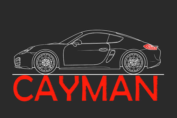 Wall Art - Photograph - Porsche Cayman Phone Case by Mark Rogan