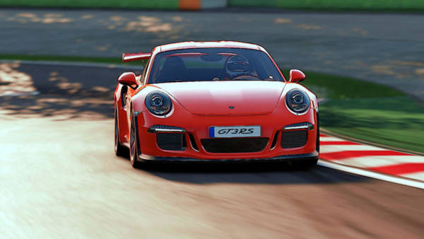 Painting - Porsche Gt3 Rs - 2 by Andrea Mazzocchetti