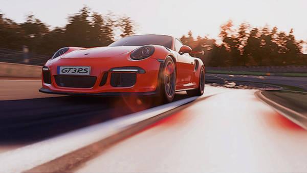 Photograph - Porsche Gt3 Rs - 3 by Andrea Mazzocchetti