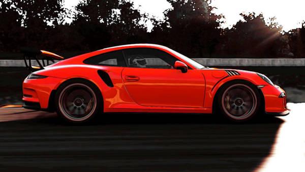 Photograph - Porsche Gt3 Rs - 6 by Andrea Mazzocchetti