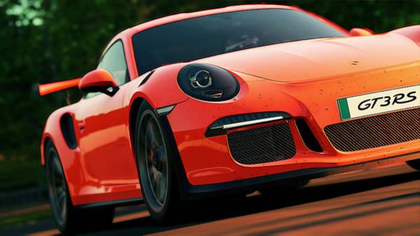 Photograph - Porsche Gt3 Rs - 8 by Andrea Mazzocchetti