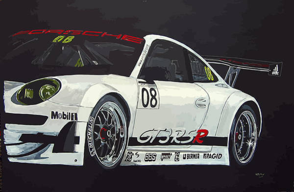 Painting - Porsche Gt3 Rsr by Richard Le Page