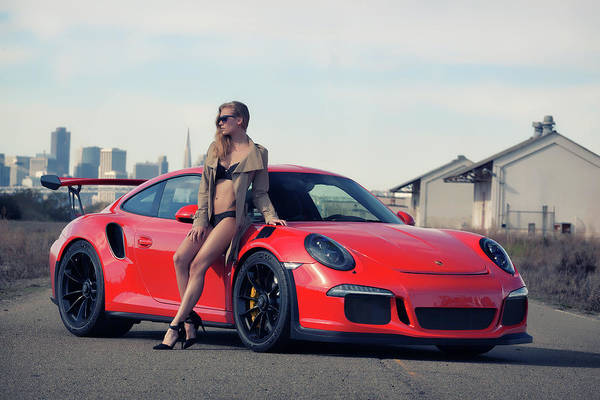 Photograph - #porsche #gt3rs And #kim by ItzKirb Photography