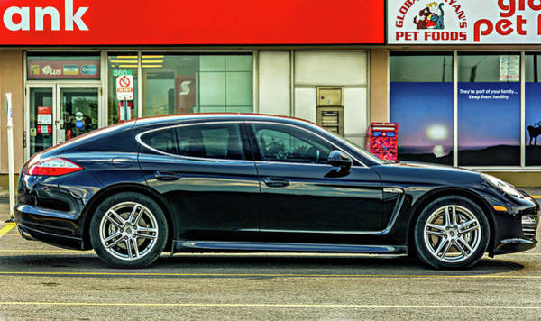 Steve Harrington Wall Art - Photograph - Porsche Panamera Sport Turismo by Steve Harrington