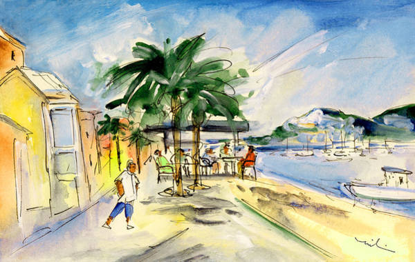 Painting - Port Andratx 02 by Miki De Goodaboom