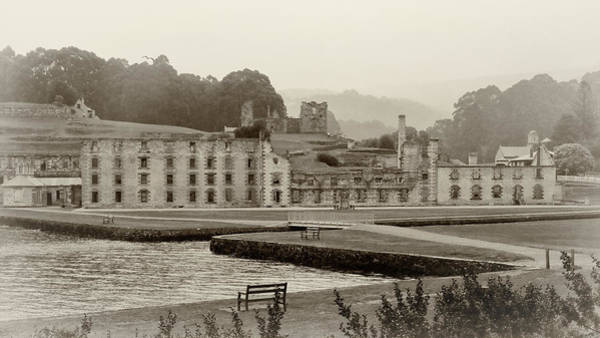 Photograph - Port Arthur Penitentiary by Nicholas Blackwell
