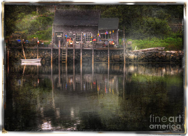 Photograph - Port Clyde Dock by Craig J Satterlee