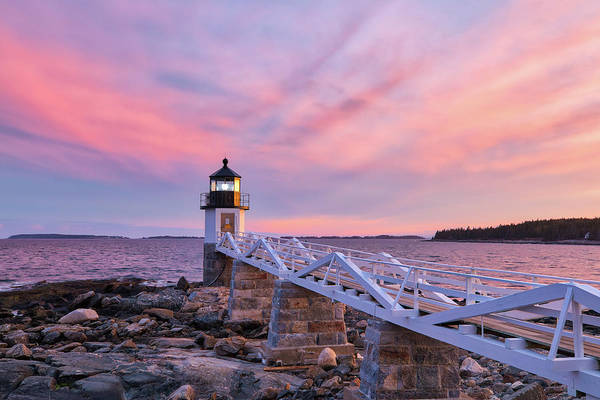 Photograph - Port Clyde Marshall Point Light by Juergen Roth