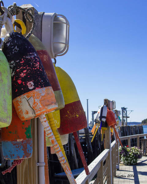 Wall Art - Photograph - Port Clyde Pier by Dick Botkin