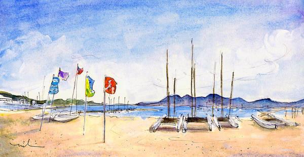 Painting - Port De Pollenca 02 by Miki De Goodaboom