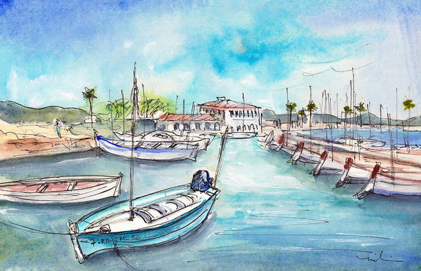 Painting - Port De Pollenca 03 by Miki De Goodaboom