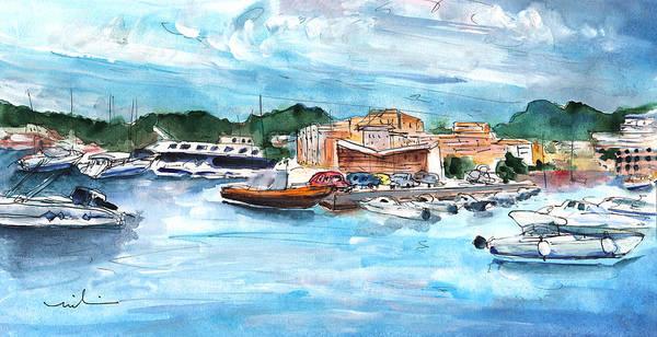 Painting - Port De Soller In Majorca 05 by Miki De Goodaboom