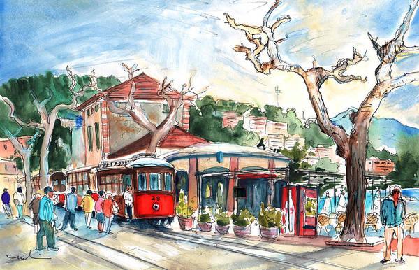 Painting - Port De Soller In Majorca 06 by Miki De Goodaboom