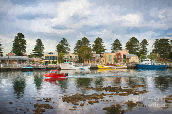 Photograph - Port Fairy Rush Hour  Ed by Ray Warren