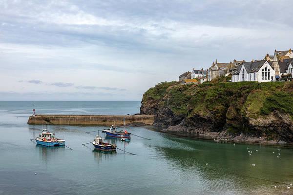 St Martin Photograph - Port Isaac - Cornwall by Joana Kruse