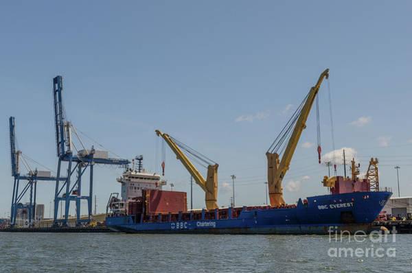 Photograph - Port Of Charleston South Carolina by Dale Powell