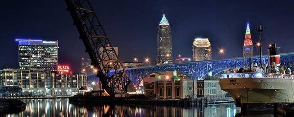 Wall Art - Photograph - Port Of Cleveland by Frozen in Time Fine Art Photography