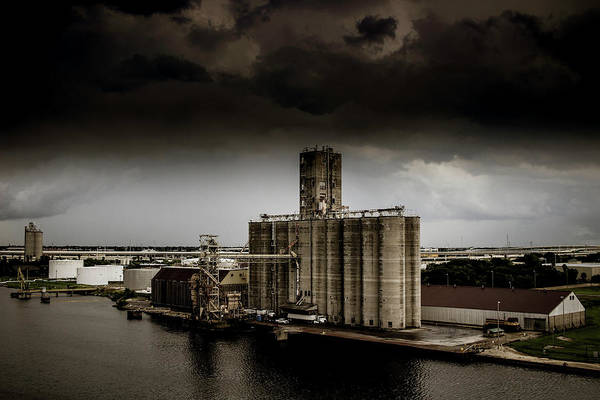 Port Of Tampa Wall Art - Photograph - Port Of Tampa  by Gaddeline Figueroa