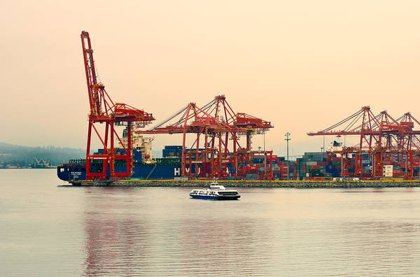 Port Of Vancouver Wall Art - Photograph - Port Of Vancouver II by Paul W Sharpe Aka Wizard of Wonders