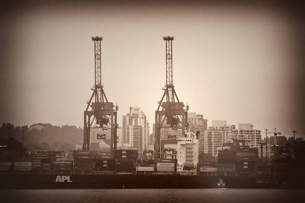 Port Of Vancouver Wall Art - Photograph - Port Of Vancouver IIi by Paul W Sharpe Aka Wizard of Wonders