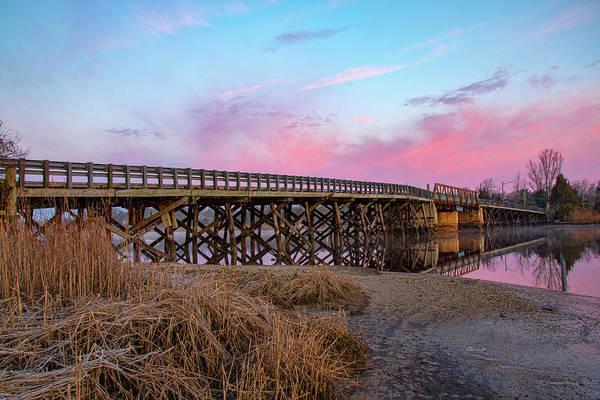 Photograph - Port Republic Nacote Creek Bridge by Kristia Adams