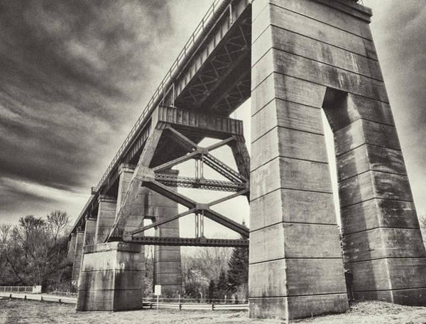 Photograph - Port Stanely Bridge by Garvin Hunter