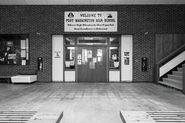 Photograph - Port Washington High School 24 by James Meyer