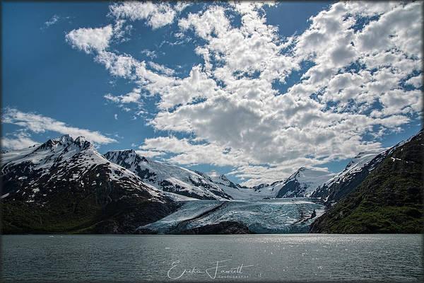 Photograph - Portage Glacier by Erika Fawcett