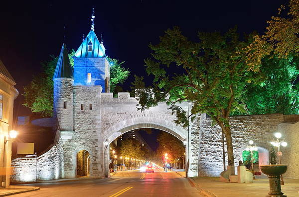 Photograph - Porte Dauphine In Quebec City by Songquan Deng