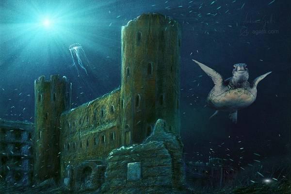 Ocean Scape Digital Art - Porte Palatine by Andrea Gatti