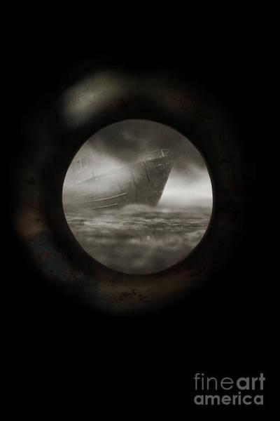 Photograph - Porthole View by Edward Fielding