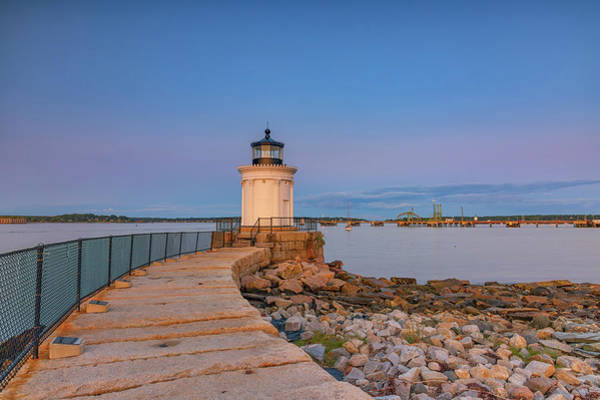 Wall Art - Photograph - Portland Breakwater Light by Rick Berk